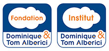Logo Fondation et Institut Dominique & Tom Alberici footer